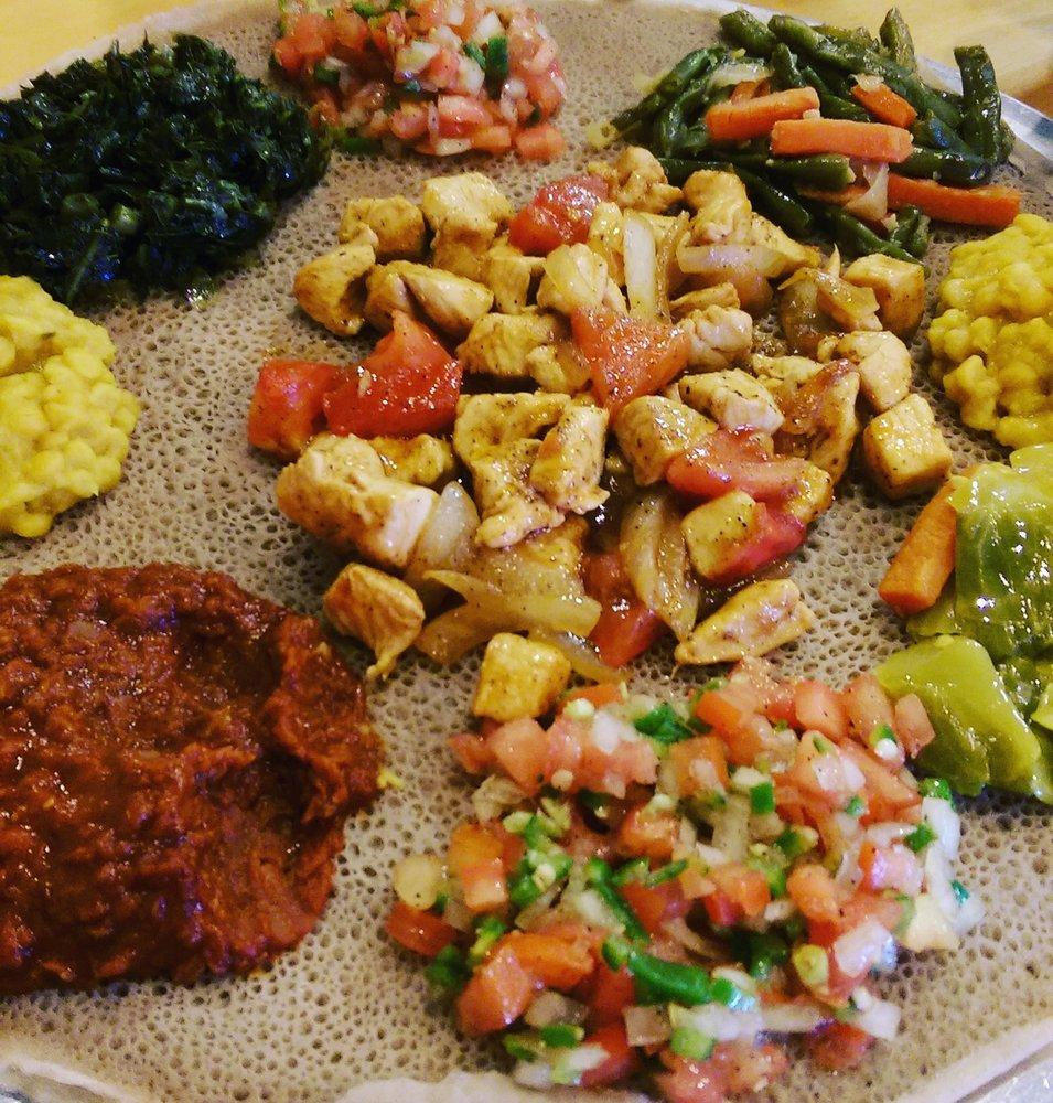 Ahadu Ethiopian Cuisine: 15510 Old Columbia Pike, Burtonsville, MD