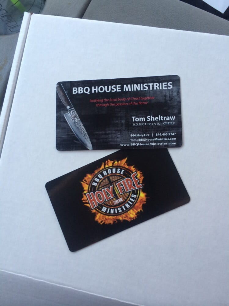 My new business cards for bbq house ministries yelp photo of smart levels printing irvine ca united states my new business colourmoves