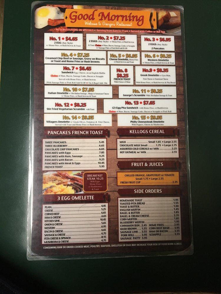 George's Restaurant: Tioga, Wellsboro, PA