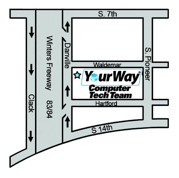 Your Way Computer Tech Team: 1317 S Danville Dr, Abilene, TX