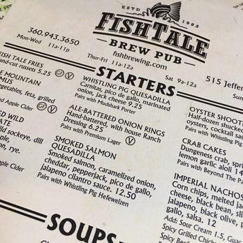Fish tale brewpub 263 photos 543 reviews pubs 515 for Fish tales menu