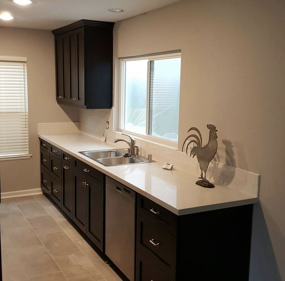 after photo of my yorba linda kitchen remodel where we installed new