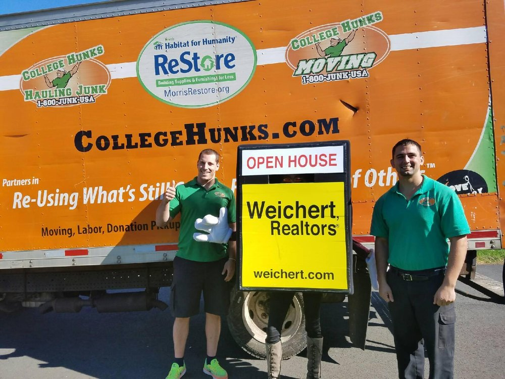 College Hunks Hauling Junk And Moving 58 Photos 98 Reviews Removal 1275 Bloomfield Ave Fairfield Nj Phone Number Yelp