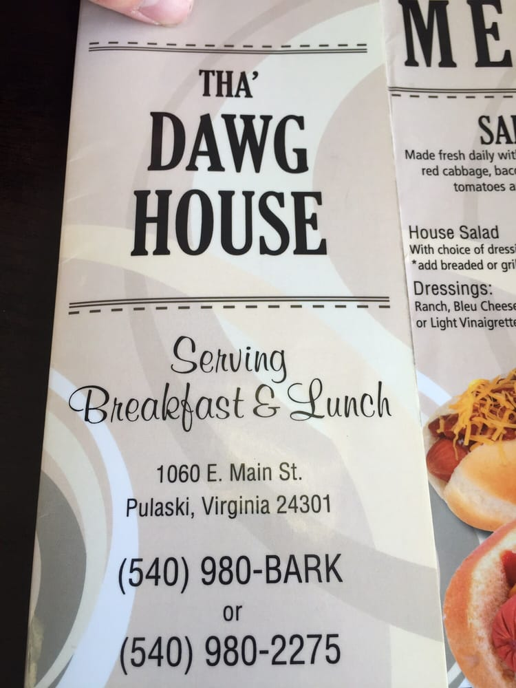 The Dawg House: 1060 E Main St, Pulaski, VA