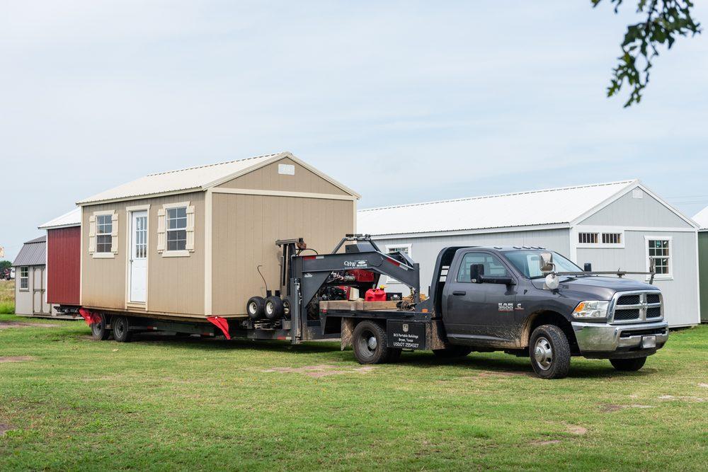 BCS Portable Buildings: 9638 E State Hwy 21, Bryan, TX