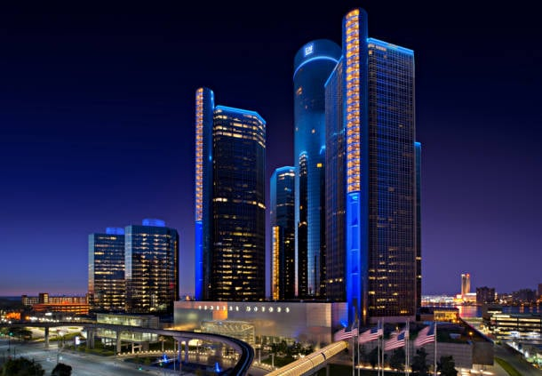 Detroit Marriott at the Renaissance Center: Renaissance Center, Detroit, MI