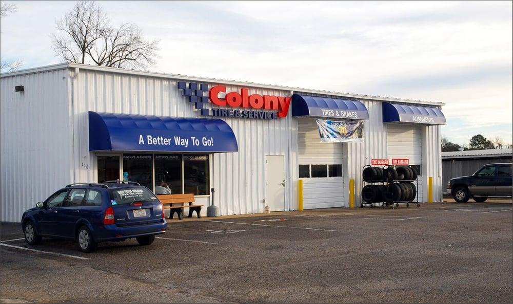 Colony Tire and Service: 118 West Blvd, Williamston, NC