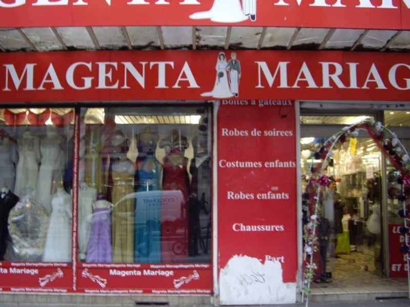 Magasin de robe de soiree boulevard magenta