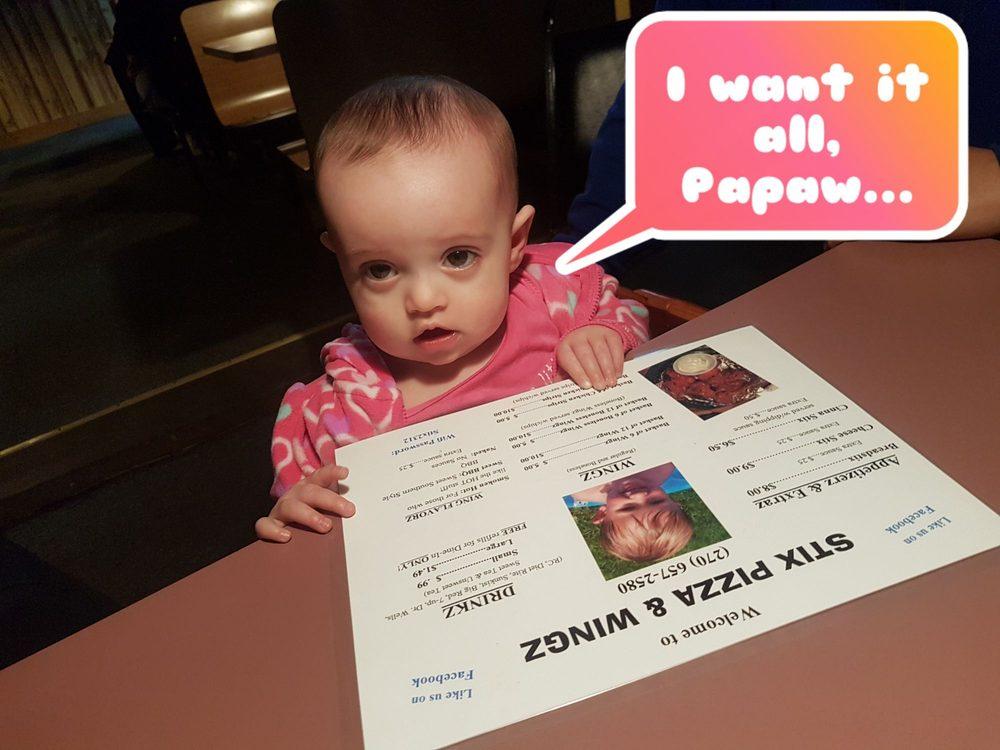 Stix Pizza & Wingz: 9110 US Hwy 431 S, Dunmor, KY