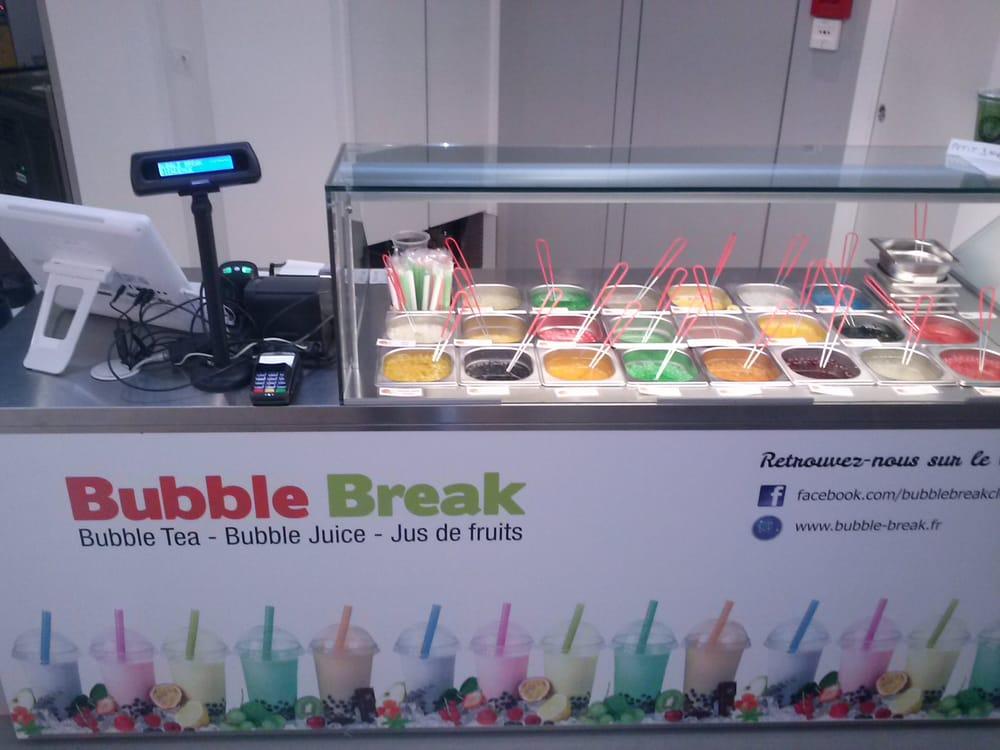 Bubble break coffee tea shops 2 rue giscard de la for Casiers de rangement clermont ferrand
