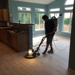 Photo Of Chicago Custom Flooring   Niles, IL, United States. Maple Floor  Ready