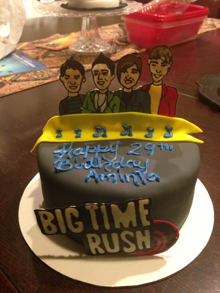 Big Time Rush Birthday Cake Yelp