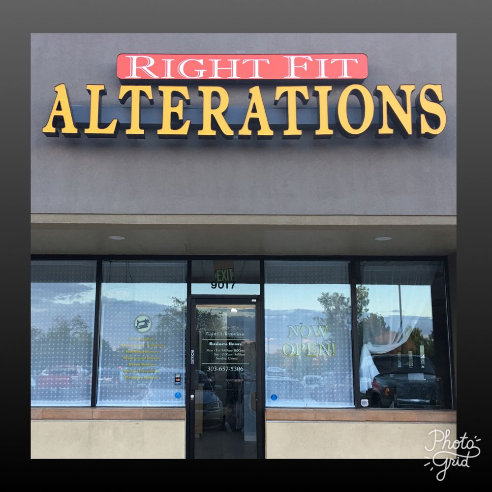 Right Fit Alterations: 9017 Harlan St, Westminster, CO