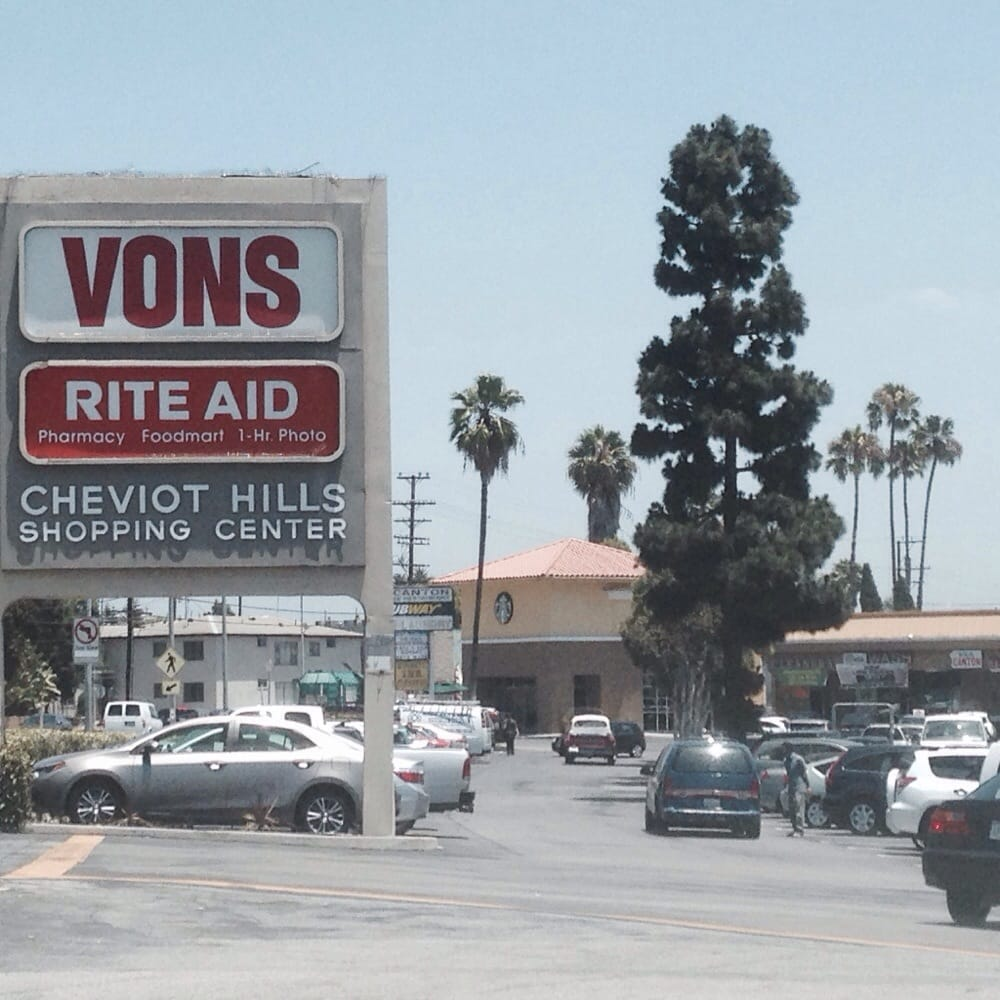 Los Angeles Mall: Cheviot Hills Shopping Center