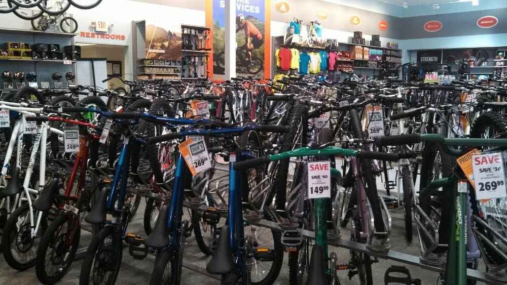 Sports Bikes For Sale Near Me >> Dick's Sporting Goods - Sports Wear - The Market Place ...