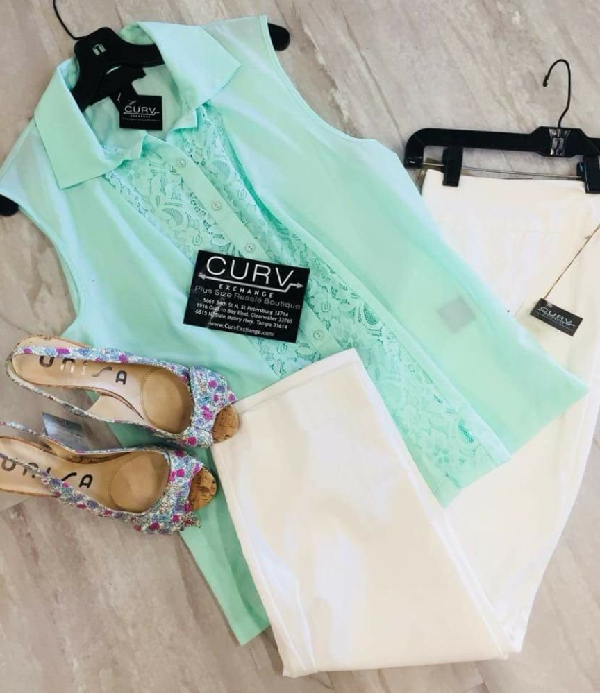 Curv Exchange Plus Size Resale Boutique - Tampa: 6815 N Dale Mabry Hwy, Tampa, FL