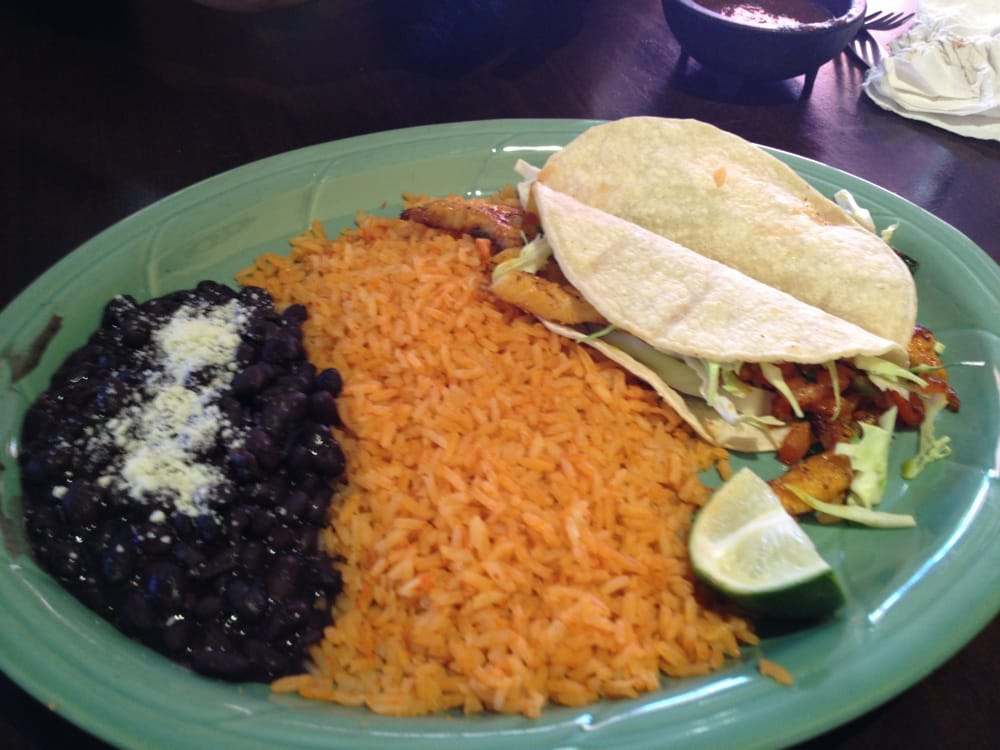 Delicious fish tacos with black beans yelp for Fish tacos near my location