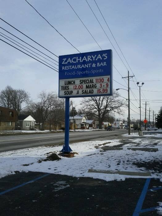 Zacharya's Restaurant and Bar: 3455 W Alexis Rd, Toledo, OH
