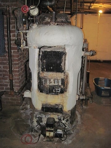 A Typical Asbestos Covered Quot Snowman Quot Type Boiler Yelp