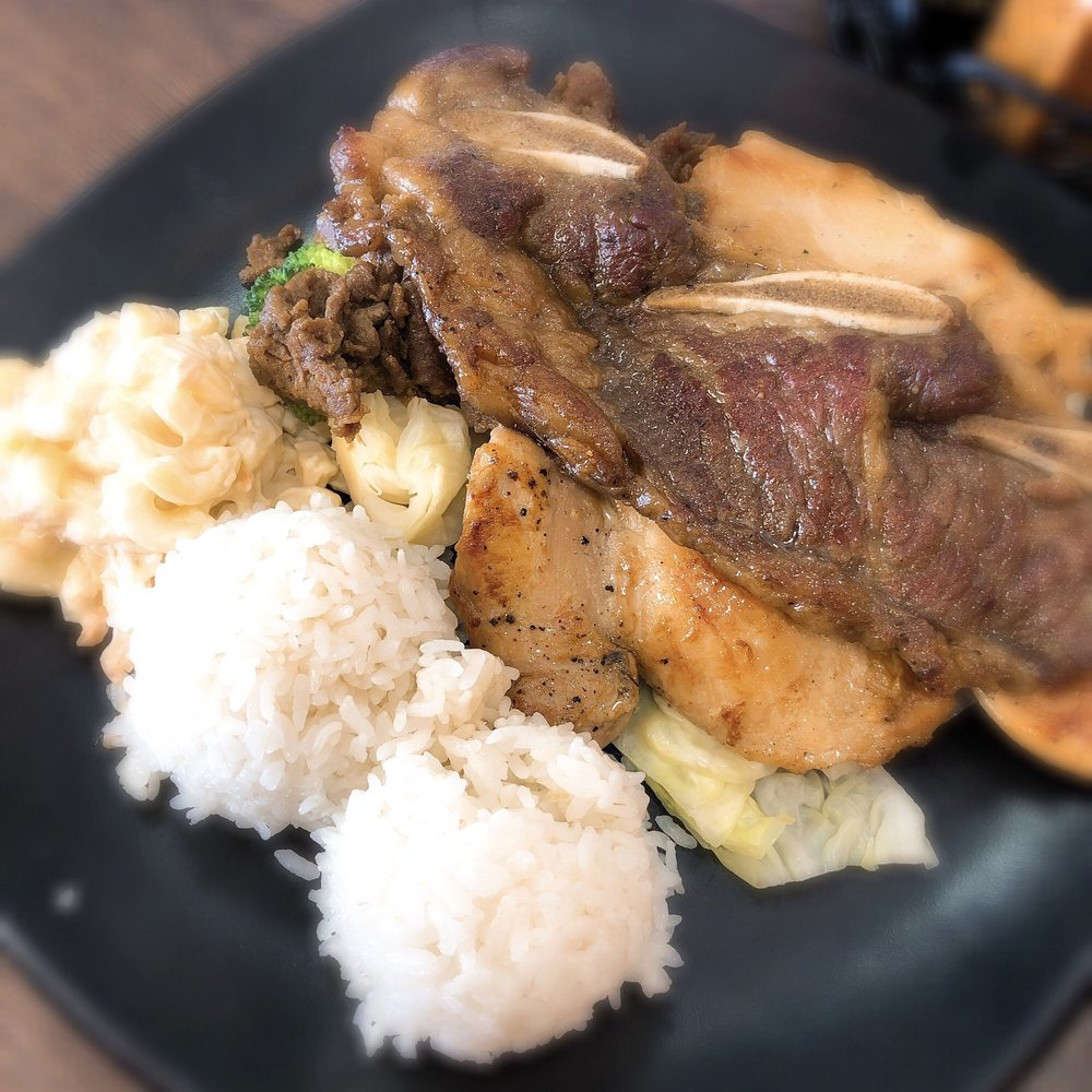 Food from Sunshine Hawaiian BBQ & Ramen