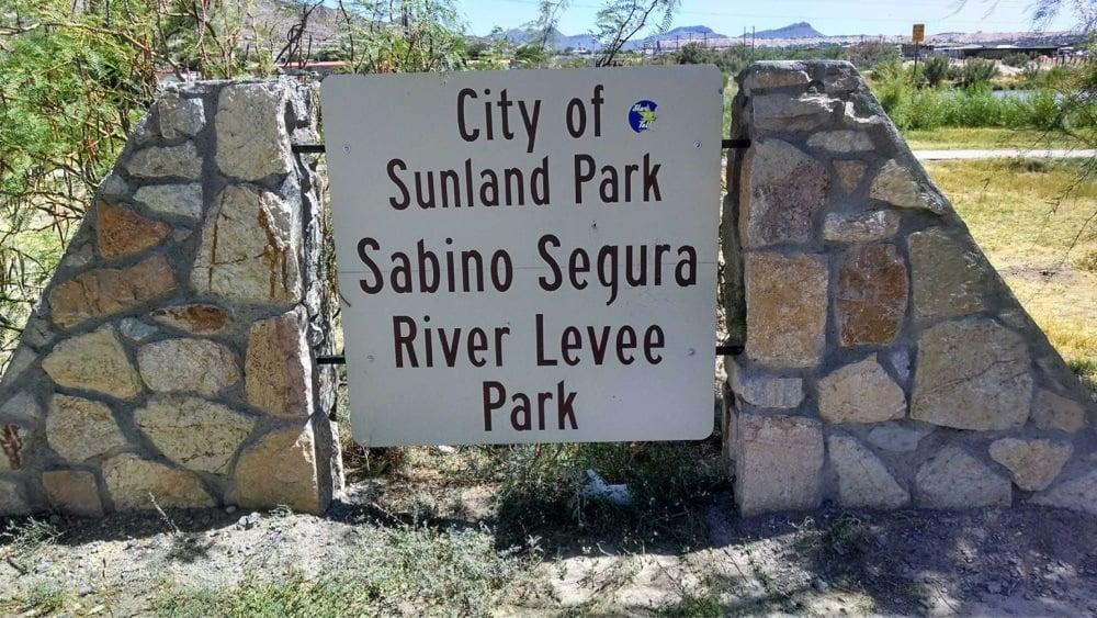 Sabino Segura River Levee Park