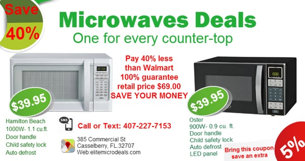 Photo Of Elite Microwave Deals Celberry Fl United States