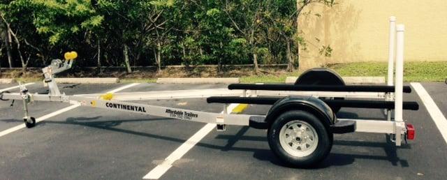 Continental Trailer Model As1616 Aluminum Skiff Frame