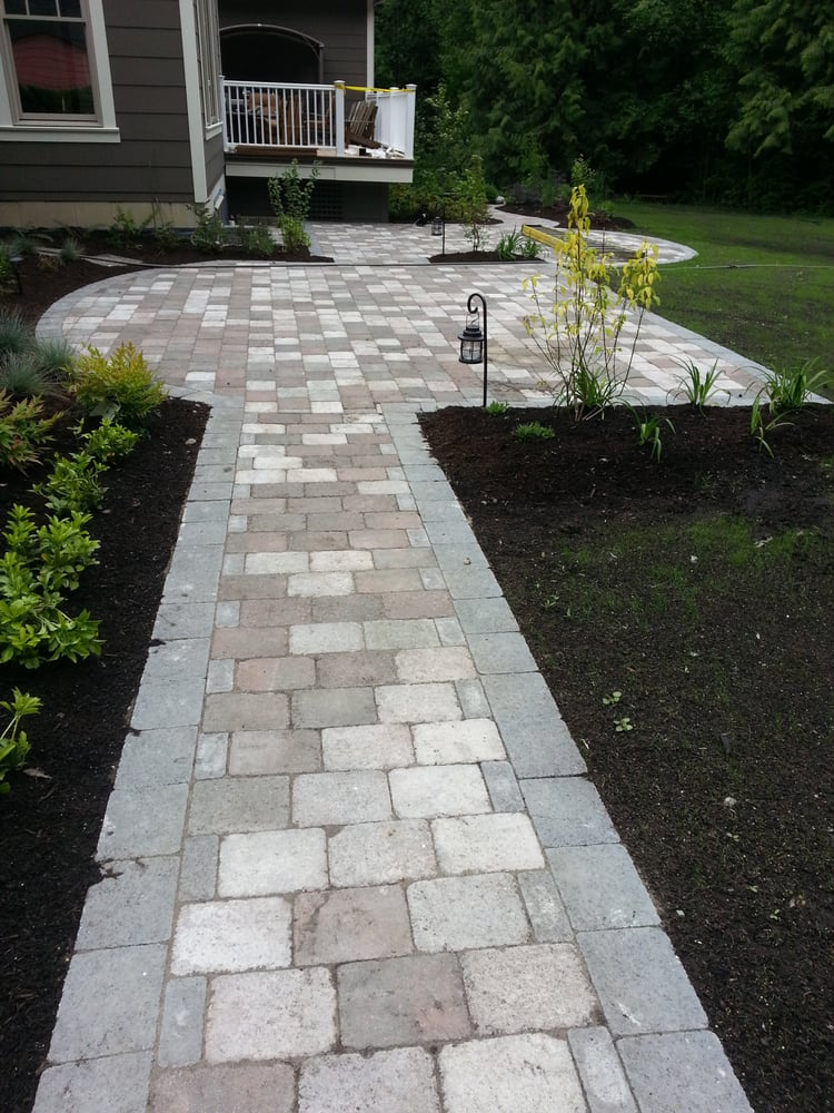 Old country tumbled pavers - Yelp