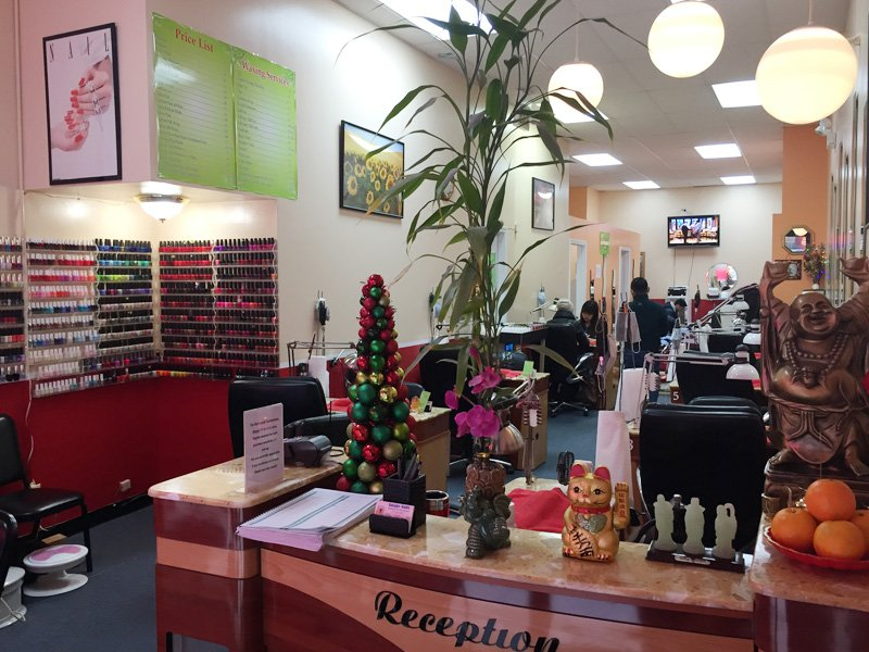 Image nails 35 photos 85 reviews nail salons 203 w for A j salon chicago