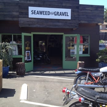 Photo Of Seaweed And Gravel   Encinitas, CA, United States. Storefront