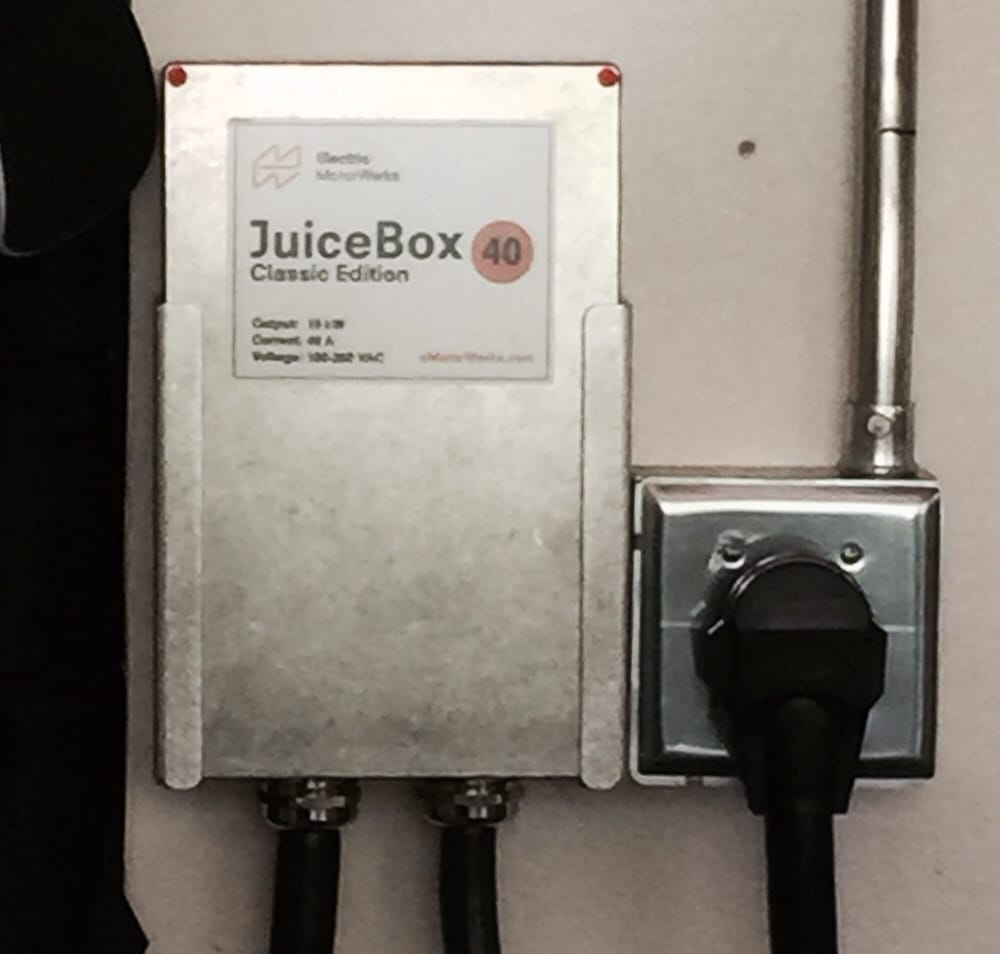 Steve's Installation Of My Juice Box Car Charger Looked
