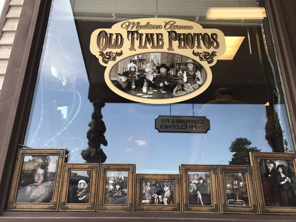 Madison Avenue Old Time Photos: West Yellowstone, MT