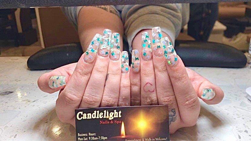 Candlelight Nails & Spa: 5805 State Bridge Rd, Johns Creek, GA