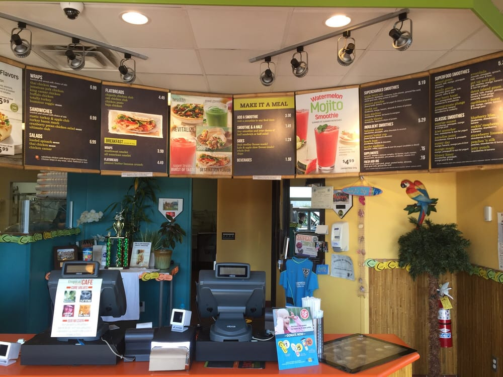 Tropical Smoothie Cafe Fairhaven Ma