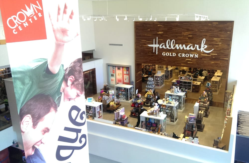 Hallmark Shop Looking Down From The Second Floor Yelp