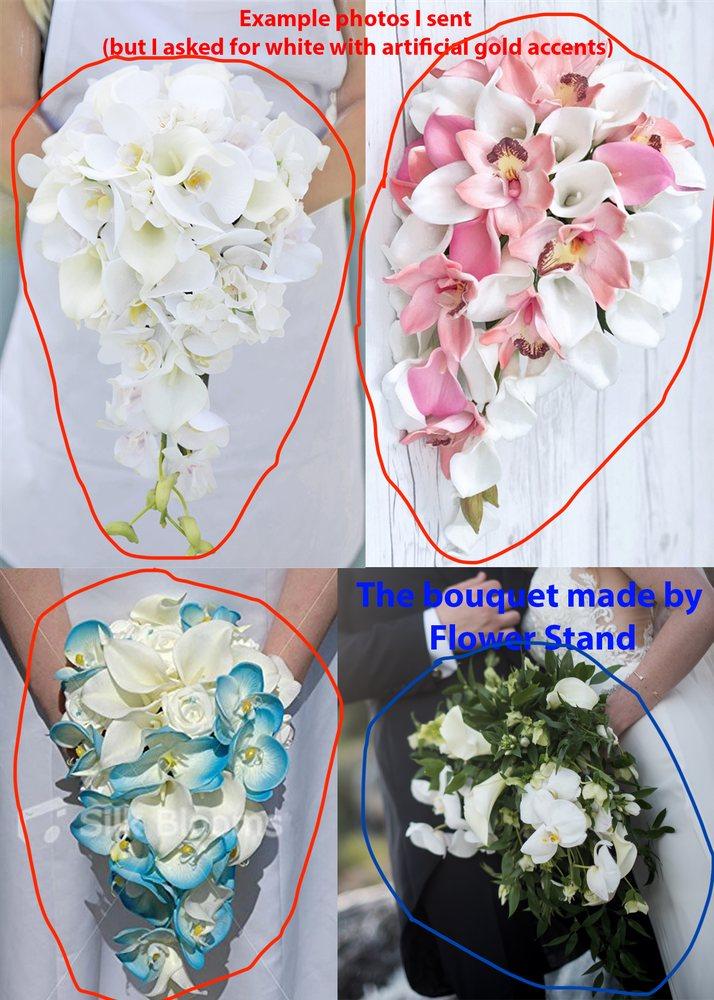 El puesto de flores