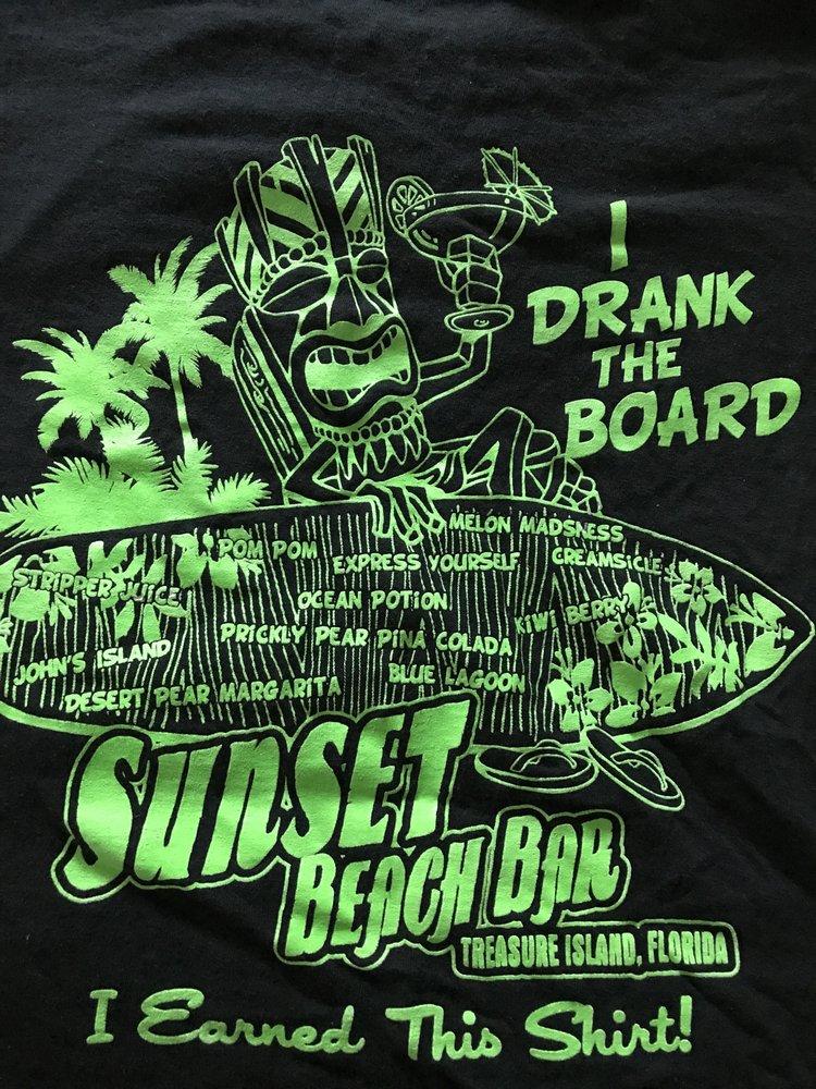 Sunset Cafe & Beach Bar: 12000 Gulf Blvd, Treasure Island, FL