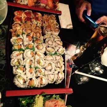 Photo Of Akashi Anese Restaurant Greensboro Nc United States Sushi Boat That
