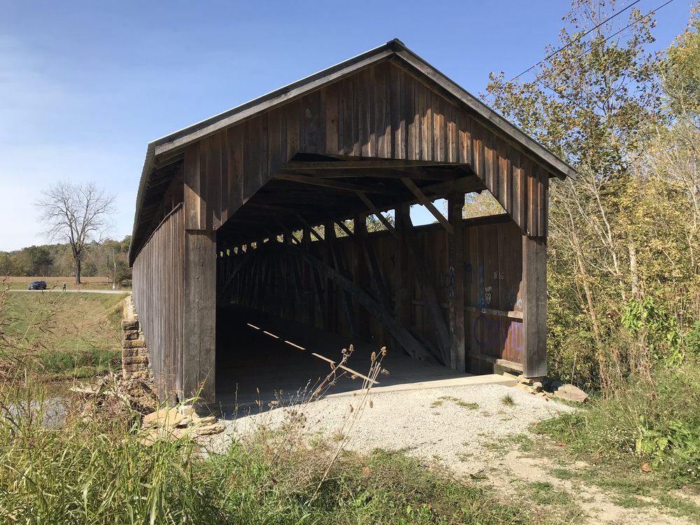 Mt Zion Covered Bridge: 1900 Mt Zion Rd, Springfield, KY