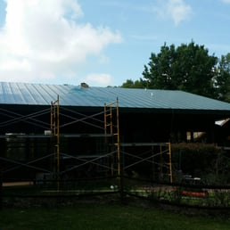Photo Of North Florida Metal Roofing Ocala Fl United States Installing  Standing