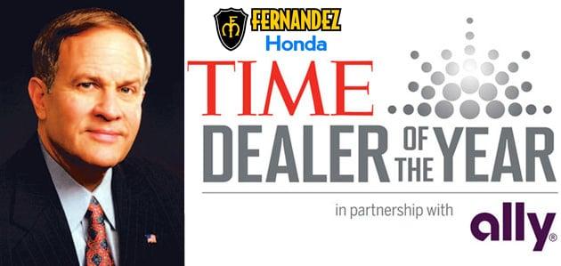 2012 time dealer of the year yelp for Fernandez honda san antonio tx