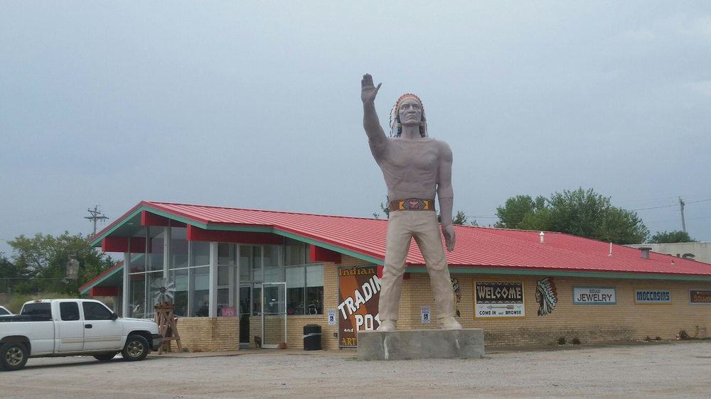 Indian Trading Post & Art Gallery: S Of I-40 US 281 Spur, Geary, OK