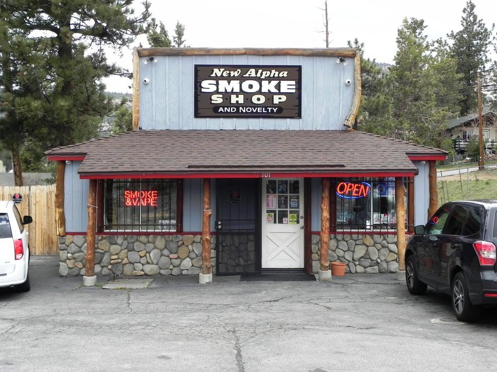 New Alpha Smoke Shop and Novelty: 101 E Big Bear Blvd, Big Bear, CA