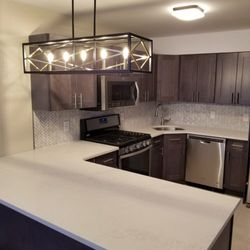 Photo Of A To Z Renovations   Brooklyn, NY, United States. Full Kitchen.  Full Kitchen Remodel