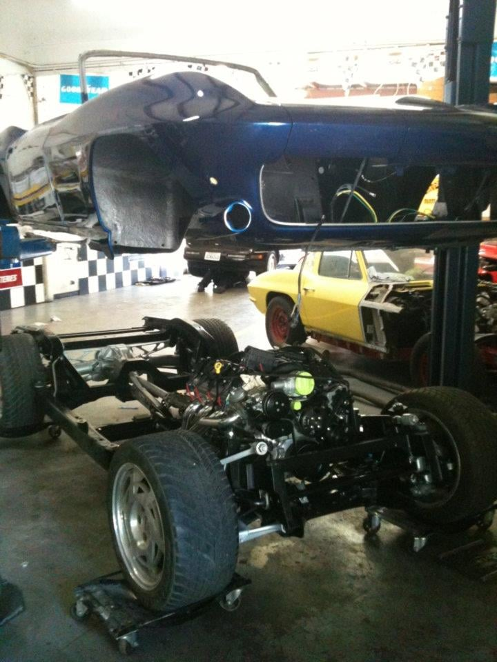 63 Corvette Complete Restoration With C4 Suspension And C6 Engine Yelp
