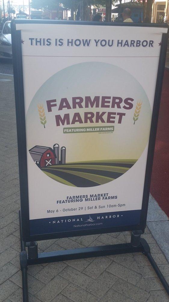 Miller Farms Farmer's Market: 150 American Way, Oxon Hill, MD