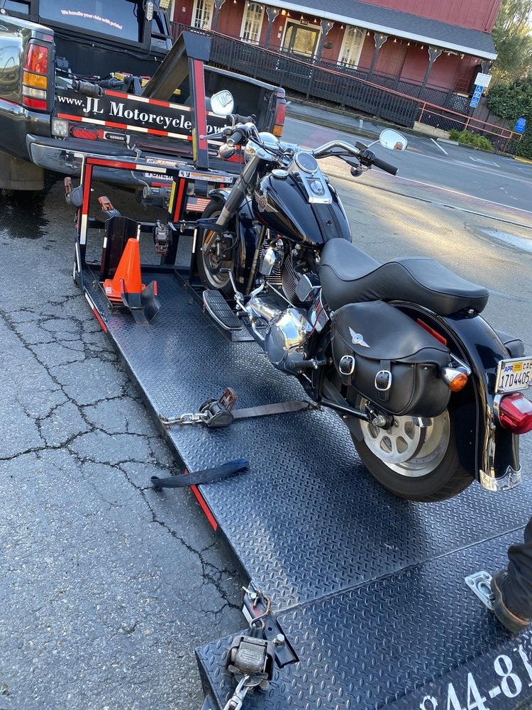JL Motorcycle Towing And Transportation: Fairfield, CA