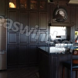 height kitchen black island bar pictures off cabinets white countertops and of countertop traditional kitchens antique