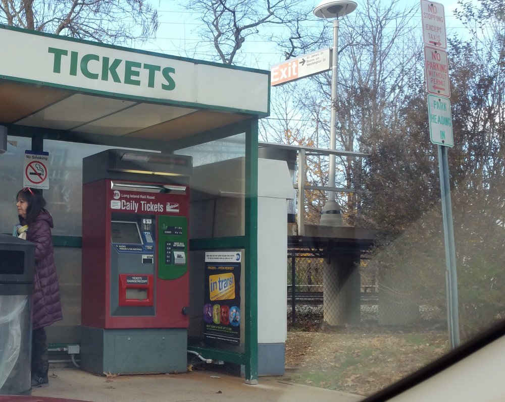 Country Life Press Station Map: The Elusive Ticket Kiosk