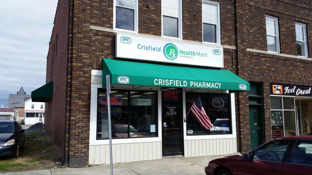 Crisfield Discount Pharmacy: 390 W Main St, Crisfield, MD